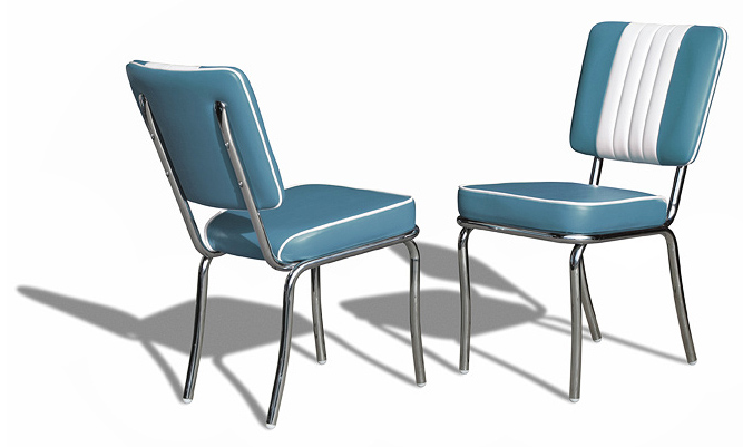BelAir Diner Chair CO24 Blue