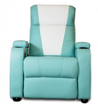Metro Home Cinema Chair Single Turquoise